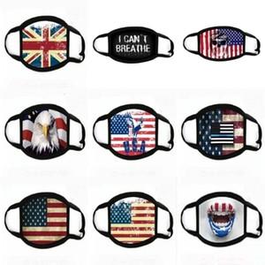 Многоразовый печати мультфильм Череп лица Cubrebocas маска Hot Customize Con Mica Ультрафиолетовое Proof Washable Бег верхом велосипед Защитные joho546