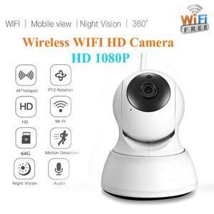 HD 1080P IR Night Vision CCTV Camera Wireless WIFI Camera Intelligent Motion Detection Home Security IR Night Vision Security