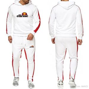 uomini s Abb elle donne tuta pantaloni casual Designer hoodie di sport tom del rivestimento del vestito felpa insieme della mutanda della tuta pantaloni tuta