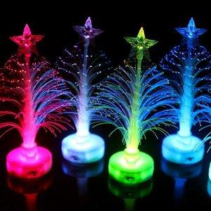 Закрытый Семь Дерево Дерево Night Рождество свет водить Световая Fiber Крытый Цвет украшения Свет модели лампы T3i5403 Color yxlfw gardens2010