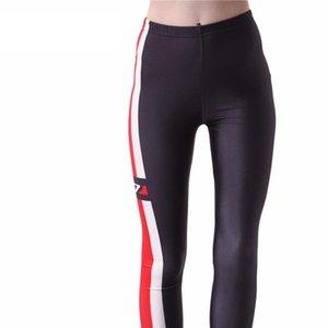 SexySpring Autumn Women Pants Galaxy Digital Printed N7 Leggings MASS EFFECT N7 WET LOOK LEGGINGS Free Shipping