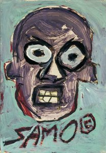 JEAN MICHEL BASQUIAT SAMO Home Decor Handpainted &HD Print Oil Painting On Canvas Wall Art Canvas Pictures 7534