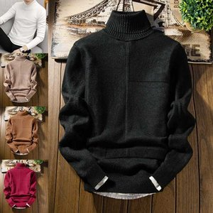 Male Round Neck Pullover Fashion Arm Striped Men Trend Sweater Casual Standard Wool Flat Knitted Full Thin O-neck