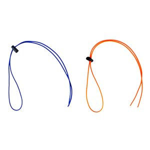 Stabile 2x UV gomma Occhialini da nuoto / immersione Maschera Elastic Strap cordino