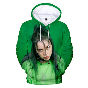 Hot Sale Fashion Billie Eilish 3D Hoodies Men Women Hoodie Billie Eilish hoody Sweatshirts Clothing 3D Tops streetwear MX191113