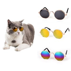 Fashion Cool Cat Glasses Pet Dog Eye Protection Sunglasses Puppy Kitty Photo Props Toy For Pet Cats Dogs Fashion costume