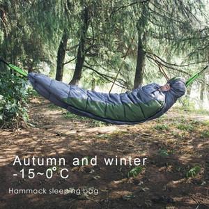 Camping Schlafsack Tragbare Hammock Underquilt Hammock Thermal unter Isolierung Decke Zubehör für Camping O1L5