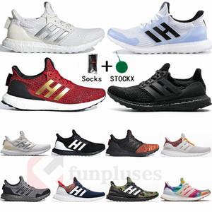 Adidas Ultraboost 3.0 4.0 Laufschuhe Männer Frauen Ultra Boost 3.0 III Primeknit Läuft Weiß Schwarz Sport Sneaker