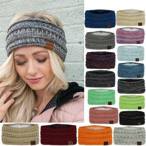 Femmes Mode chaud à tricoter Gardez Bandeau main Sport Hairband Mode Coton Tissu large bandeau femmes accessoires cheveux