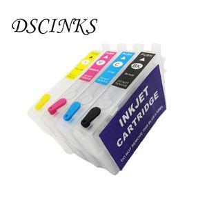 4colors cartouche d'encre T1801 T1811 Pour Rechargeables Expression XP-30 Accueil XP-102 XP-202 XP-205 XP-302 XP-305 XP-402 imprimante