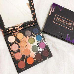 El más reciente PERCEPCIÓN SHAYLA X COLOURPOP paleta de sombra de 16 colores del brillo del reflejo de la sombra de ojo del color del maquillaje del POP del envío