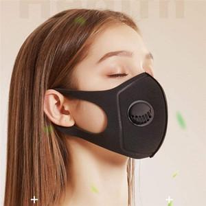 Vana Gerçekçi Kadın Face ile Kirliliği toz geçirmez Sünger Maskeler Unisex PM2.5 Yarım Shippingface Ağız Geniş sapanlar Yıkanabilir Jyra Maske