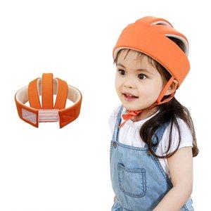 Safety Protective Kids Helmet Walking Hat Boy Girls Cotton Hat Baby Anti-Collision Cap Children'Hat Learn to Walk Head Protector