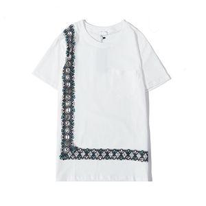 18SS camicie da uomo Designer scimmie magliette Testa dello squalo Camo T-shirt in cotone sport tee HIP HOP Breve vetements gh