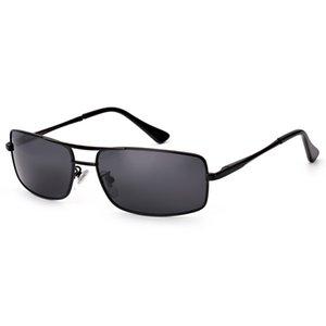 Güneş Gözlüğü Moda Erkekler Pilot Klasik Polarize Güneş Gözlükleri Sürücüler Gri Siyah Seyahat Gözlük GAFAS 2021