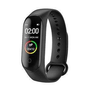 Heart Rate Monitor Blood Pressure Bluetooth m4 smart watch smart bracelet wristband Sport Step best smartwatch for xiaomi xiomi