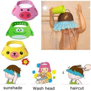 Evachildren Baby Shampoo waschen Haar Cap Bad Hut Schutz Augen Kinder Baby-Dusche Badkappe Visor Bad Lieferungen