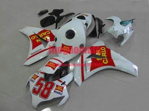 Тело для инъекций + подарки + бак белый красный для Honda CBR1000RR CBR 1000 RR 08 09 11 CBR 1000RR 08 09 10 11 CBR1000RR 2008 2009 2010 2011