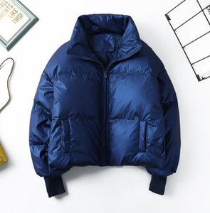 Women Thick 90% Down Jacket Stand collar Duck Down Short Winter Warm Loose Coats Female Large Outwear