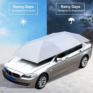 Car Cover 4.8M 4.2M Automatic Car Sun Shade Umbrella Cover Tent Anti-UV Protection With Wireless Controller hot sale