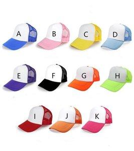 Бейсбол 2020 Blank Diy Cap Сублимация Бланки Snapback Hat для переноса тепла Пресс машины Колпачки A08