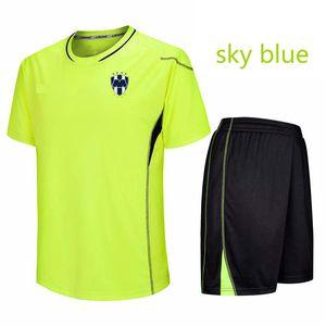 몬테레이 100 % 폴리 에스터 축구 트레이닝 레저 스포츠 유니폼 팀 착용 축구 유니폼 짧은 캐주얼 운동복