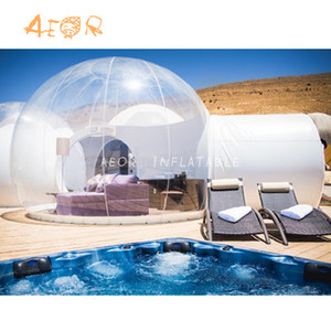 Outdoor transparent inflatable tent inflatable bubble tent for commercial hotel