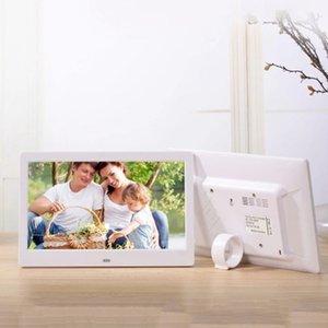 MOOL SJD-1003 10INCH إطار الصورة الرقمية 1024 × 600 H-D شاشة سطح المكتب عرض صورة الفيديو MP4 MP3 الصوت على مدار الساعة التقويم واي