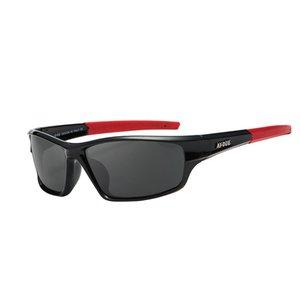 2020 di sport di marca degli occhiali da sole polarizzati Uomini protezione UV400 ordito intorno al sole Occhiali per la pesca guida di viaggio (2)