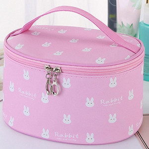 Women's Simple Large Capacity Oxford Cloth Storage Zipper Bag Cosmetic Bag Make Up Cosmetic Bags Big Capacity Box #G2 8rZ1#