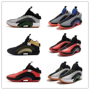 Yüksek Kaliteli 35 colorways 35 Şikago Tema içinde serbest bırakılması Erkek Sneakers Zion Williamsons 35 Bayou Erkek Basketbol Ayakkabı boyutu 7 ~ 12