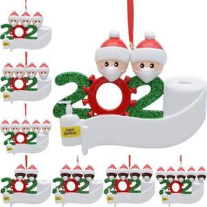 عيد الميلاد الحجر قلادة PVC DIY اسم الحجر الناجي دمية قلادة 2 3 4 5 أقنعة ملابس الدمية حلية GWA1458