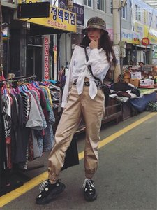 High Waist Ankle Banded Pants Luxury Womens Solid Color Casual Pants Designer Womens Cargo Pants Fashion