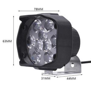 2PCS 9 W Car LED Work Light Off-road Lamp for Motorcycle ATV 4WD Waterproof Fog Lamp Driving Lights