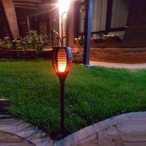 Solar Torch Light 96 Leds Outdoor Lighting Waterproof Landsacpe Decoration Solar Led Torches Garden Lights With Flame Effect
