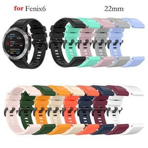 Le 26mm de bandes Quick Release Bracelet Bracelet en silicone pour Garmin Fenix 5 6 6X 935 Quatix Montre Easyfit Bracelet Bracelet pour Fenix Montre