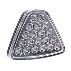 LEEPEE Car Tail 20LEDs Light Red Flash Strobe Car Brake Tail Light Triangel Stop Reversing Warning Auto Motocycle Accessories