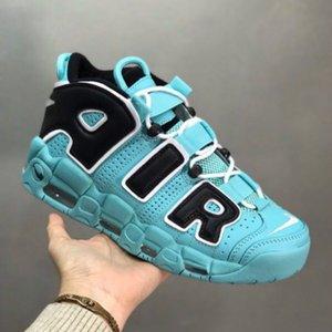 2019 Yeni 96 QS Olimpiyat Varsity BARRAGE Erkek Koşu Ayakkabı 3M Scottie Pippen Daha Uptempo Chicago Eğitmenler Spor Spor ayakkabılar