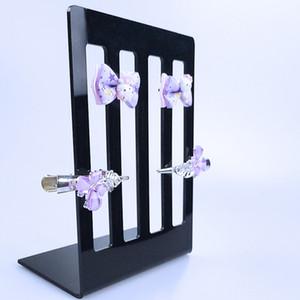 Acrílico grampos de cabelo Display Stand acessórios para o cabelo organizador titular de jóias pin haar hairpins vitrine exhibidor de joyeria