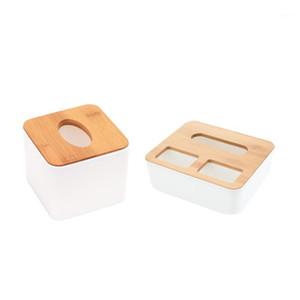 Bamboo Wood Cover Tissue Box Storage Organizer Fashion Tissue Holder Case Home Decor1