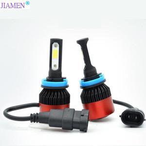 JIAMEN 8000LM / Paire LED phares H7 Ampoules 72W Lumières Vehicules H4 LED H1 H3 H27 H11 H13 3 4 9004 9007 lampe de voiture Styling