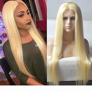 Pre Plucked Brazilian Ombre 613# Blonde Full Lace Wigs For Black Women Unprocessed Straight Brazilian Glueless Full Lace Human Hair Wigs