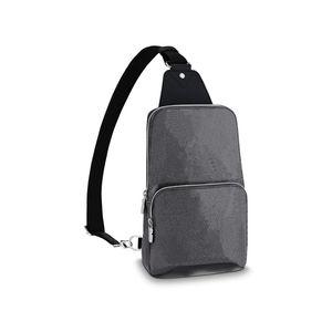Spalla del corpo della traversa uomini borsa Messenger Bag Uomo Borsello portamonete da donna in pelle frizione borsa raccoglitore di modo Fannypack 77 654
