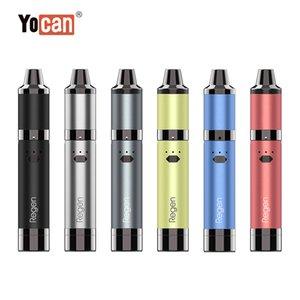 Authentic Yocan Regen Kit STARTER KIT 1100mAh Wattage Adjustable Wax Concentrate Pen with Quatz Triple Coil Silicon Jar Vape