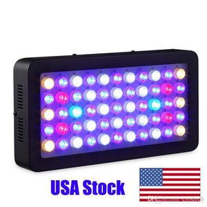 CRESTECH Dimmable LED Aquarium Light 165w, Full Spectrum for Coral Reef Fish Freshwater and Saltwater Marine Tanks FACTORY STOCK