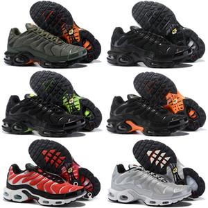 New TN Plus Mens Women KIds Running Shoes Game Orange USA Tangerine Mint Grape Volt Hyper Violet Trainers Sports Men Sneakers