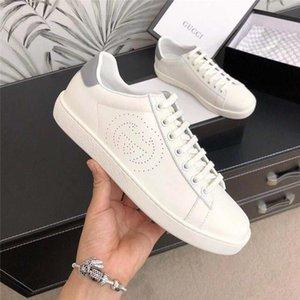 Hommes Ace Sneaker Avec Mors De Crafted Soft White Leathe Créé en utilisant une technique perforée