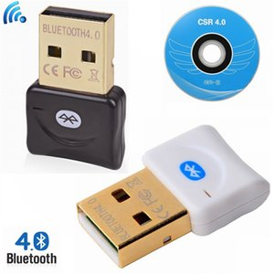 100set Mini USB Bluetooth V4.0 Dual Mode Wireless Dongle connector CSR 4.0 Adapter Audio Transmitter For Win8 7 WIN10 XP 25