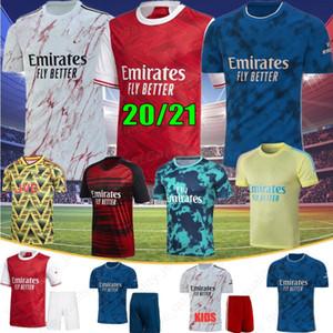 Gunner 2021 Arsen Futbol Formaları Pepe Sokratis Nicolas Ceballos GuendouZi Tierney 20 21 Yeni Futbol Gömlek Tayland Sıcak Erkekler Formalar