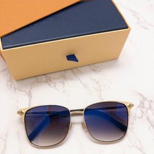 Luxury 2020 Designer Eyeglass Frame Oval Coating Sunglasses for woman Sun glasses UV400 Lens 1166 57-16-145 6 Colors